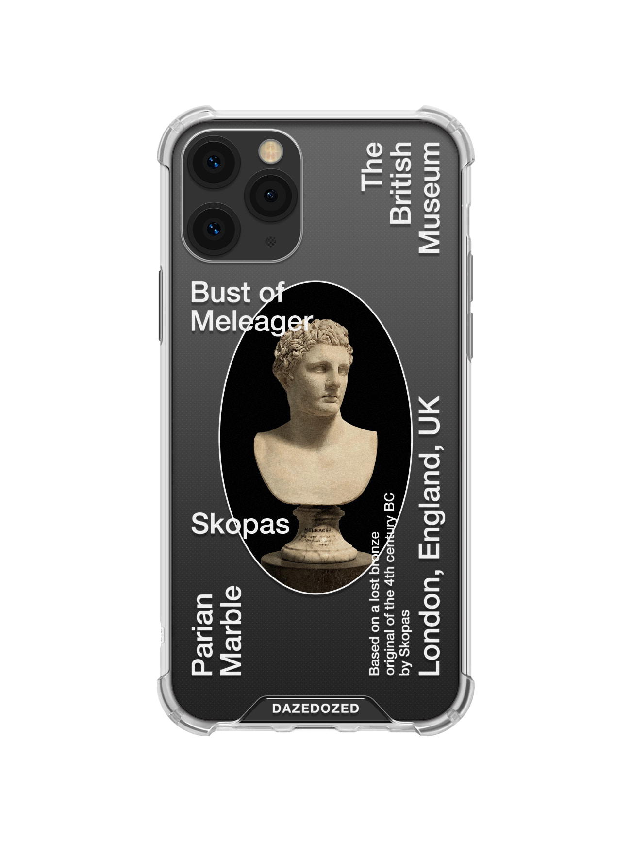 Meleager Phone Case, White Font