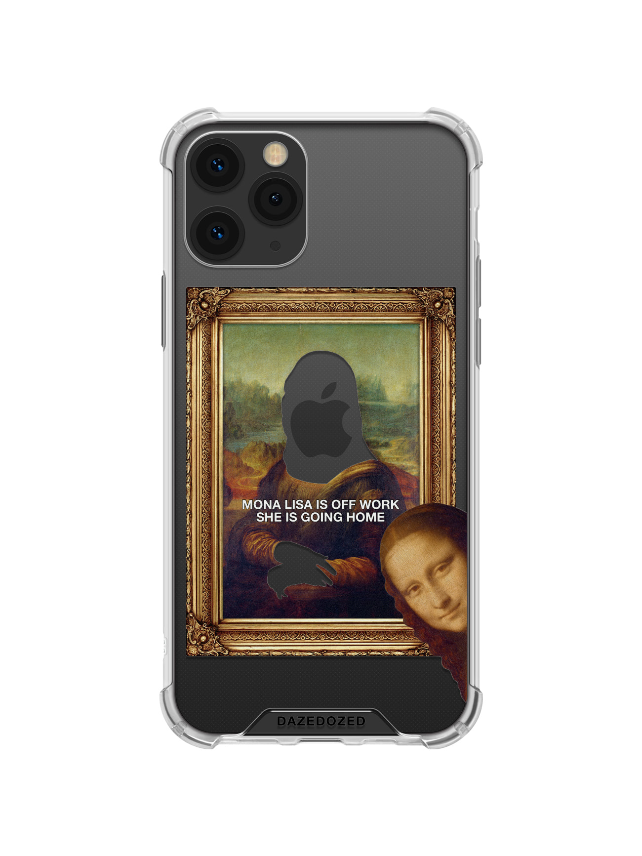 Mona Lisa Is Off Work Phone Case