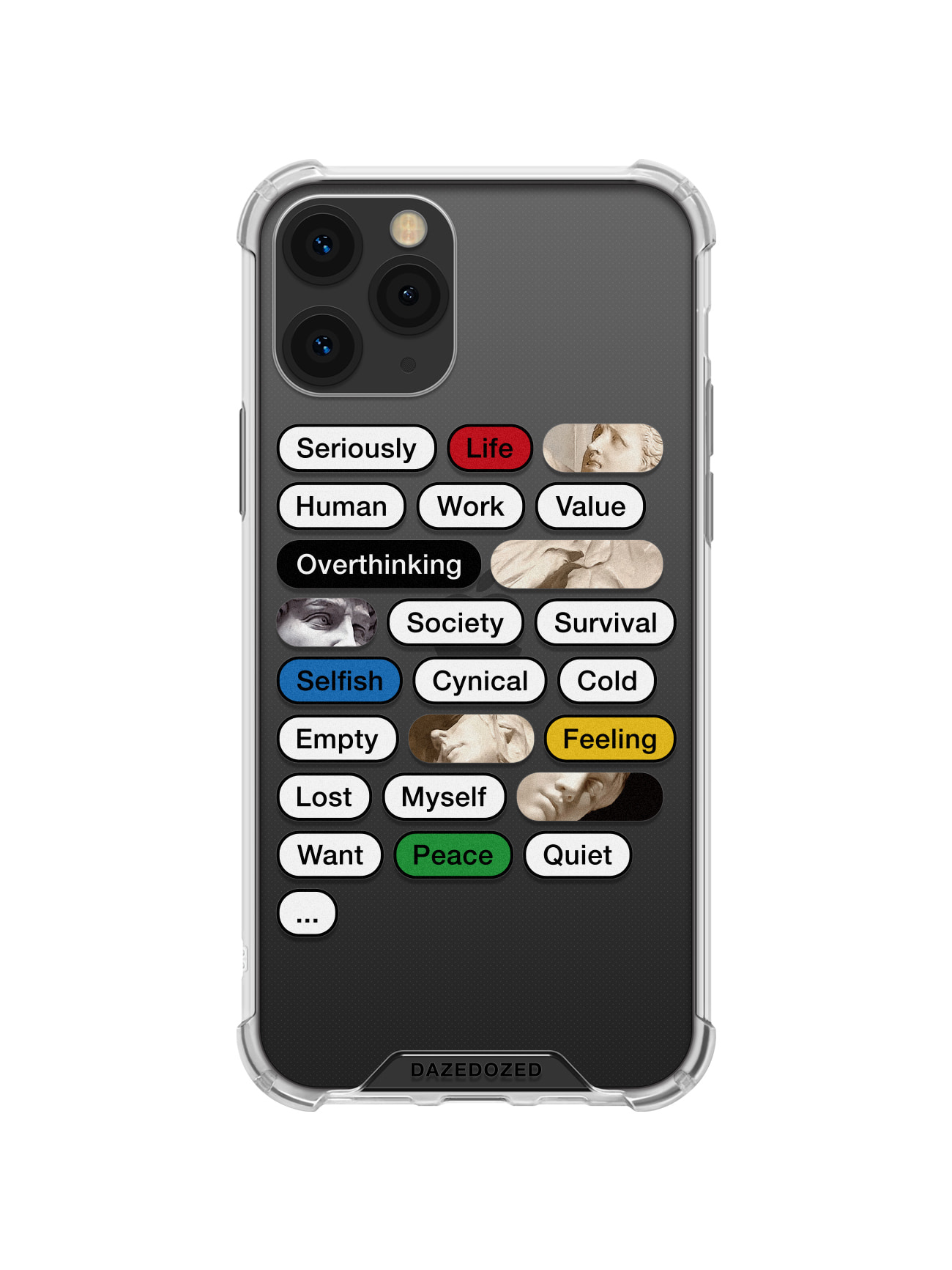 Overthinking Phone Case, Color